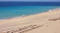 Strand am Hotel Playa Gaviotas